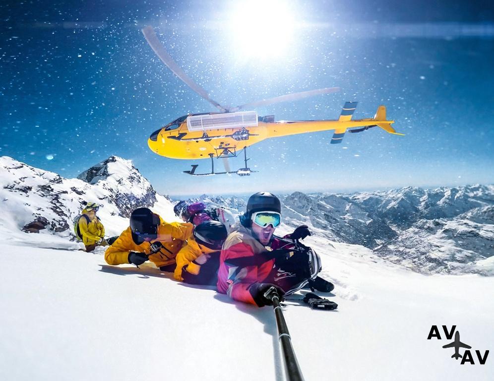 Вертолетные горнолыжные туры